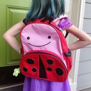 Too cute, SKIP HOP, ladybug backpack!!